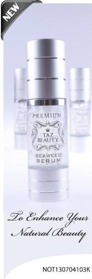 Taz Beauty Premium Seaweed Serum FREE shipping